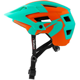 ONeal Defender 2.0 Helmet SLIVER orange/teal